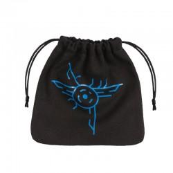 QW - dice bag galactic black & blue