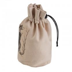 QW - dice bag forest beige & black