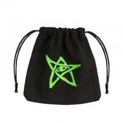 QW - dice bag cthulhu black & green