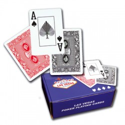 Cartes Poker 100 % plastique éco ( x 12 )