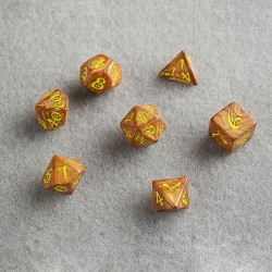 QW - classic rpg caramel & yellow