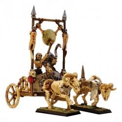 Char de commandement squelettes