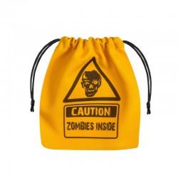 QW - zombie yellow dice bag