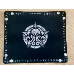"Piste à dés/Dice-tray ""Runic Cthulhu"", H.P Lovecraft, horreur, jdr,jds"