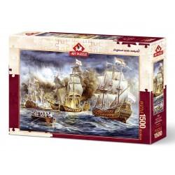 Puzzle 1500 Pièces Guerre Navale
