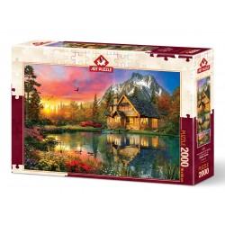 Puzzle 2000 Pièces Four Seasons One Moment