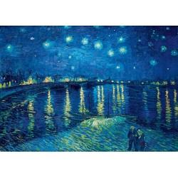 Puzzle 1000 Pièces Vincent Van Gogh - Starry Night over the Rhône, 1888