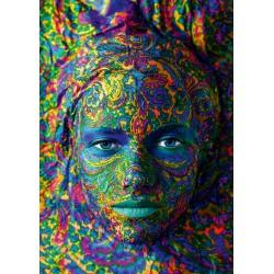 Puzzle 1000 Pièces Face Art - Portrait of woman