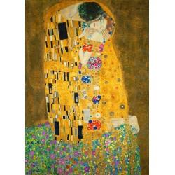 Puzzle 1000 Pièces Gustave Klimt - The Kiss, 1908
