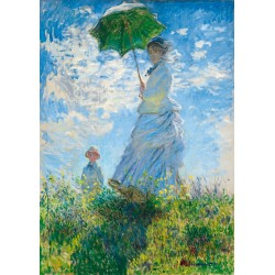 Puzzle 1000 Pièces Claude Monet - Woman with a Parasol - Madame Monet and Her Son