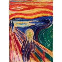 Puzzle 1000 Pièces Munch - The Scream, 1910