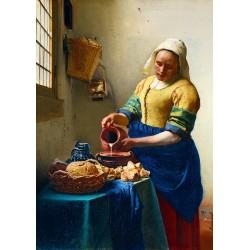 Puzzle 1000 Pièces Vermeer- The Milkmaid, 1658
