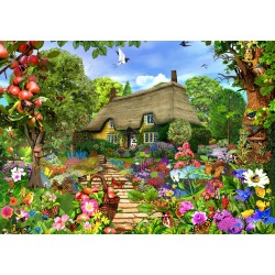 Puzzle 1500 Pièces English Cottage Garden