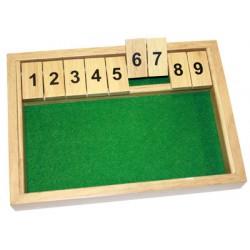 Shut the box 9 (28X20X3.8cm)