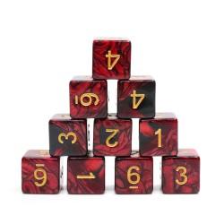 (Red+Black) Blend-D6 sets