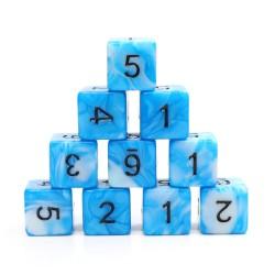 (Blue+White) Blend-D6 sets