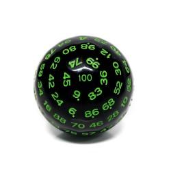 D100-Black Opaque(Green Ink)