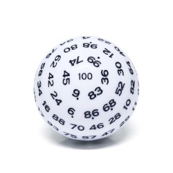 D100-White Opaque(black Ink)