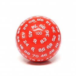 D100-Red Opaque(White Ink)