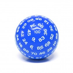 D100-Blue Opaque(White Ink)