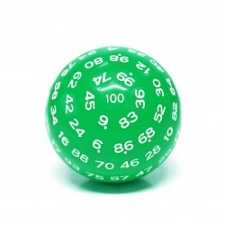 D100-Green Opaque(White Ink)