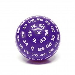 D100-Purple Opaque(White Ink)