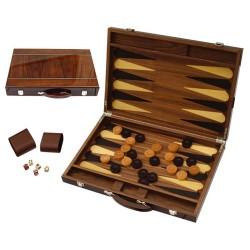 Backagmmon bois marqueté luxe 46 cm