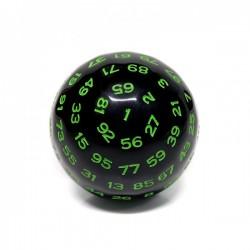 D100-Noir Opaque (encre verte)