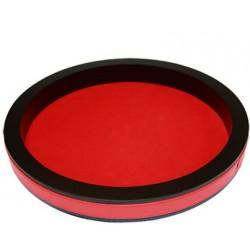 Piste de dés Prestige 36cm (Rouge)