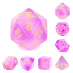 Purple Milky Dice