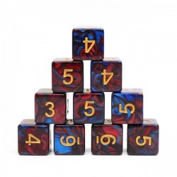 (Red+Blue) Blend-D6 sets