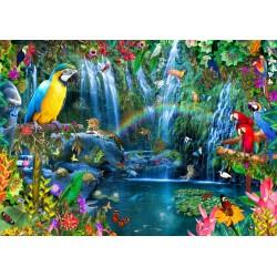 Puzzle 3000 Pièces Parrot Tropics
