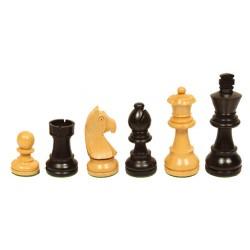 Pièces échecs staunton buis/ébonisé n°5