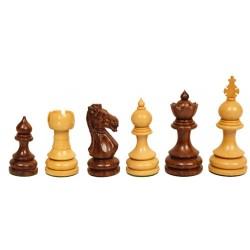 Pièces échecs Taj buis/palissandre n°5