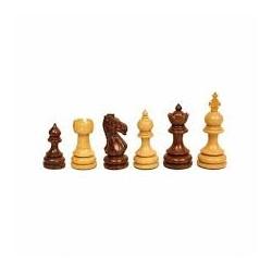Pièces échecs Taj buis/palissandre n°3