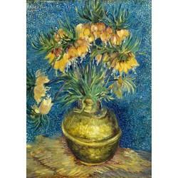 Puzzle 1000 pièces Vincent Van Gogh - Imperial Fritillaries in a Copper Vase, 1887