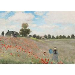 Puzzle 1000 pièces Claude Monet - Poppy Field, 1873
