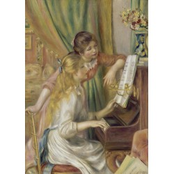Puzzle 1000 pièces Auguste Renoir - Young Girls at the Piano, 1892