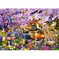 Puzzle 1000 pièces Two By Two at Noah's Ark
