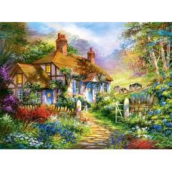 Puzzle 3000 pièces Forest Cottage