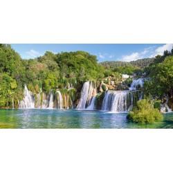Puzzle 4000 pièces Cascades du Parc National de Krka, Croatie
