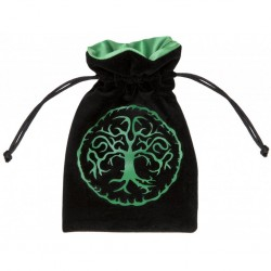 QW - dice bag forest black & green