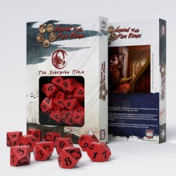 QW - legend of the five rings the scorpion clan d10